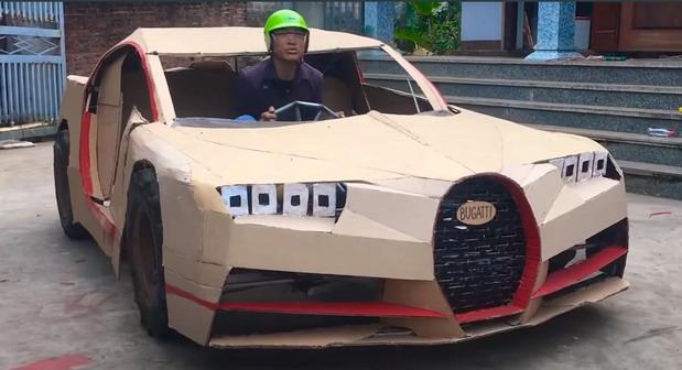 Bugatti karton