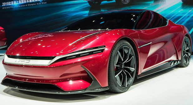 BYD E-Seed GT concept
