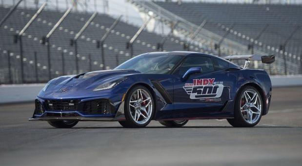 Corvette ZR1 Safety Car