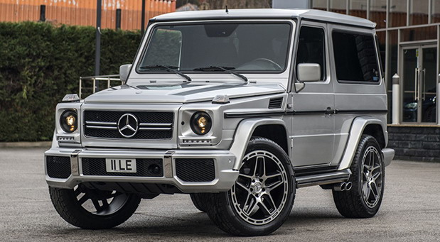 Chelsea Truck Company Mercedes G320 AMG edition