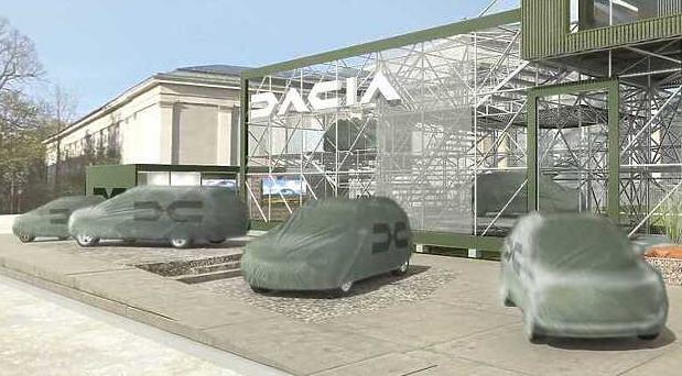 Dacia sa sedam sedišta