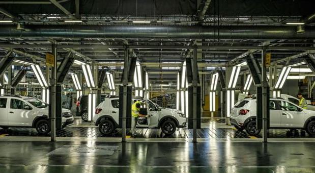 Dacia fabrika