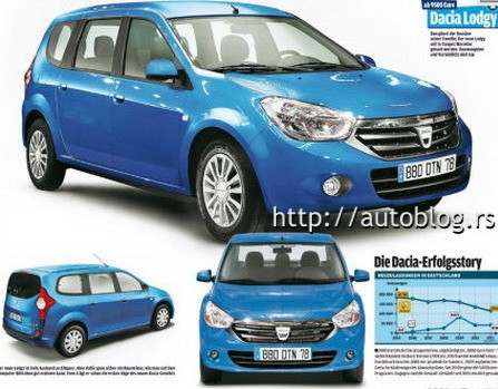 Dacia on 2012    Dacia  Lodgy Monospace  J92    Page 19