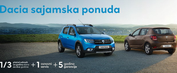 Dacia ponuda