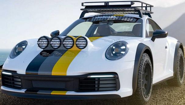 Delta 4x4 Porsche 911