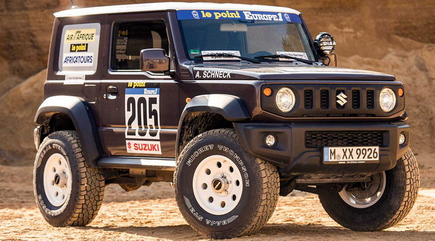 Delta 4x4 Suzuki Jimny Dakar Edition