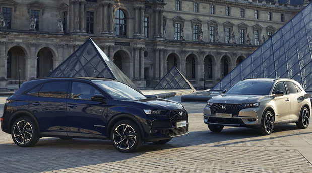 DS 7 Crossback Louvre edition