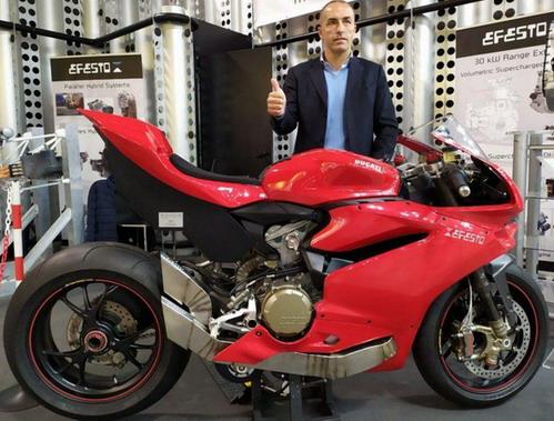 Ducati Panigale 1299 S hybrid