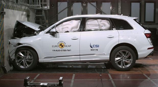 EuroNCAP test