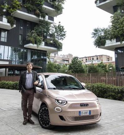 Olivije Fransoa i Fiat 500e