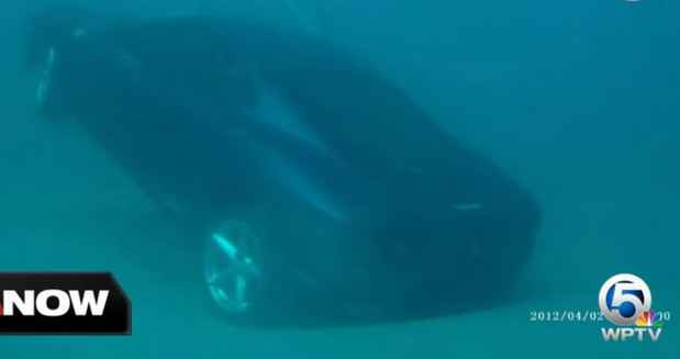Ferrari u moru