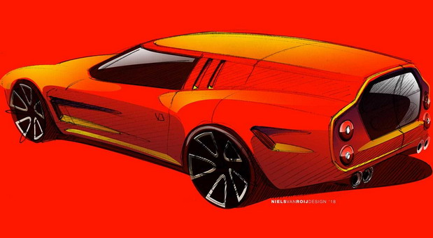 Ferrari 550 GT by Niels van Roij Design