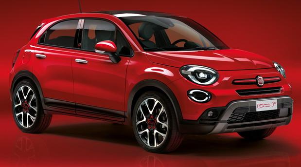 Fiat 500 X RED