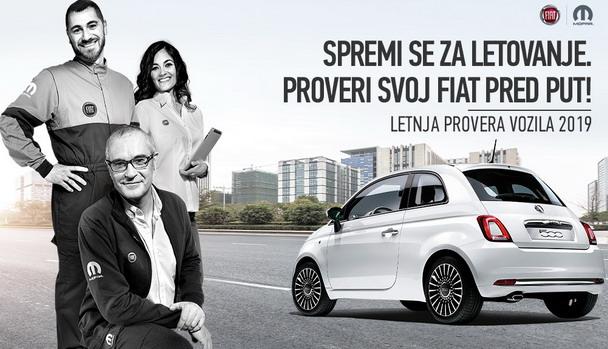 Fiat letnja provera vozila