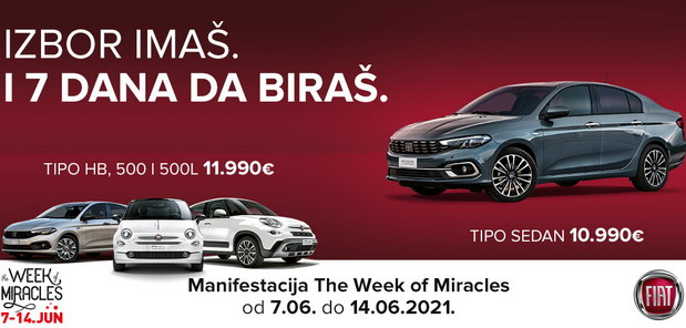 FIAT Week of miracles