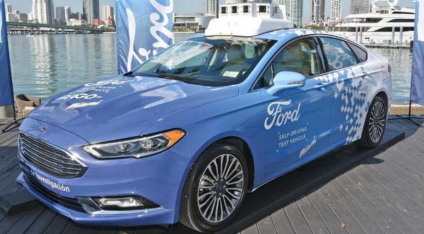 Autonomni Ford Fusion