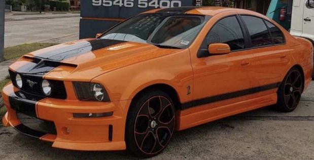 Ford Falcon Mustang