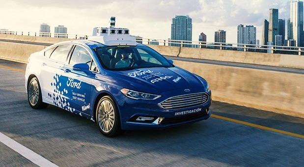 Ford autonomni