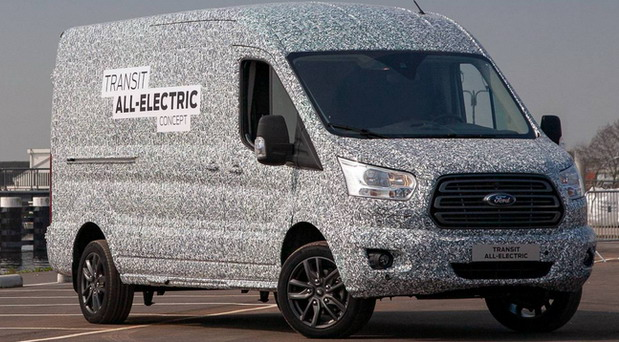 Ford Transit All-Electric Concept
