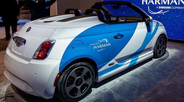 Fiat 500e by Harman