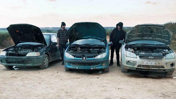 Honda, Peugeot i Ford