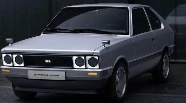 Hyundai Pony EV Heritage