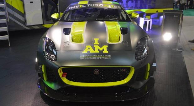 Jaguar F-Type SVR GT4