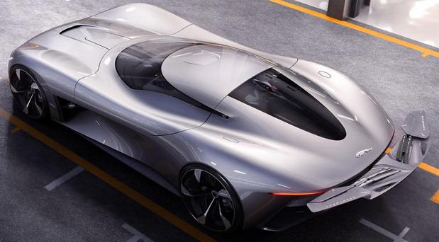 Jaguar Vision Gran Turismo Coupe concept