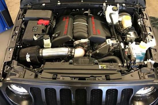 Jeep Wrangler LS3 V8