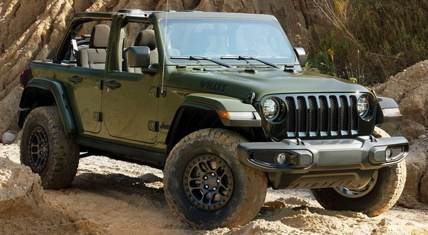 Jeep Wrangler Unlimited Willys Xtreme Recon