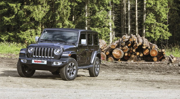 Jeep Wrangler Unlimited 2.2 CRD