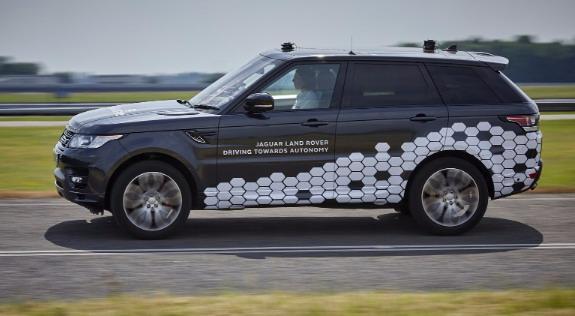 Range Rover autonomy