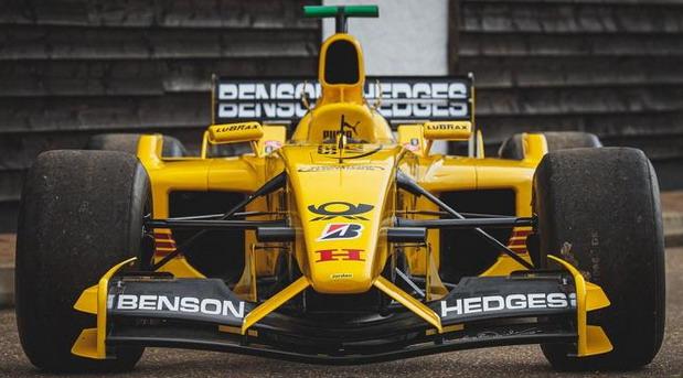 Jordanov F1 bolid