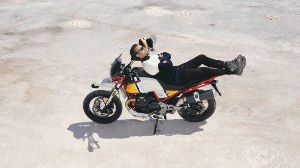 Juan Mekgregor ambasador Moto Guzzi V85TT
