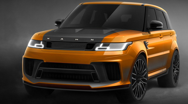 Range Rover Sport 5.0 V8 Supercharged SVR Carbon Edition Pace Car