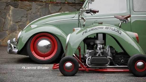 Karting od krila VW Bube