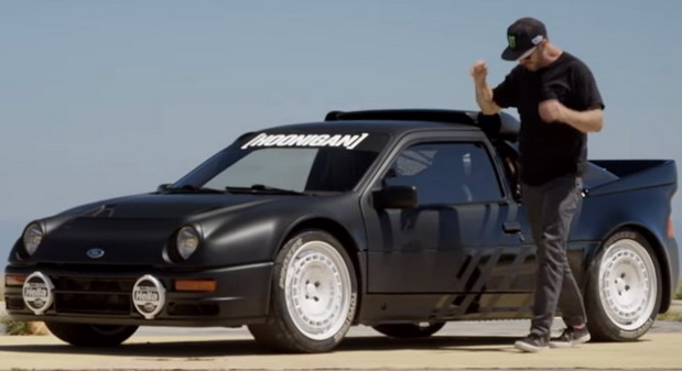 ken block ford rs200