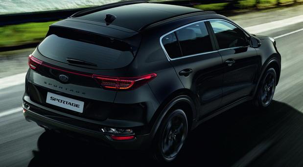 Kia Sportage Black Design