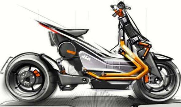 KTM e-scooter