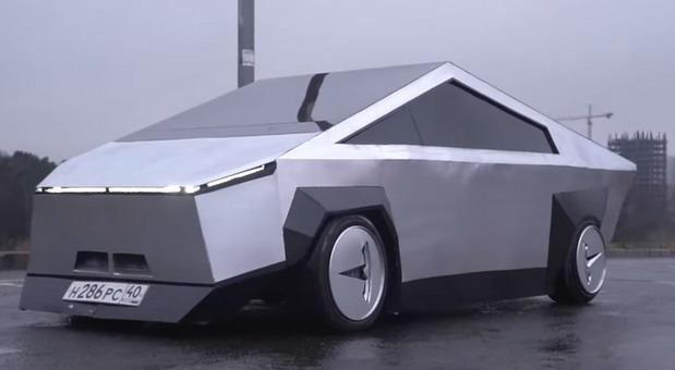 Lada kao Tesla Cybertruck
