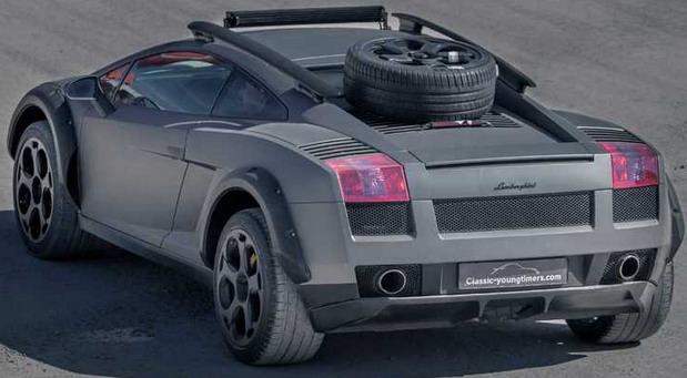 Lamborghini Gallardo off-road