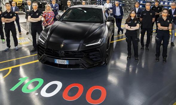 Lamborghini fabrika