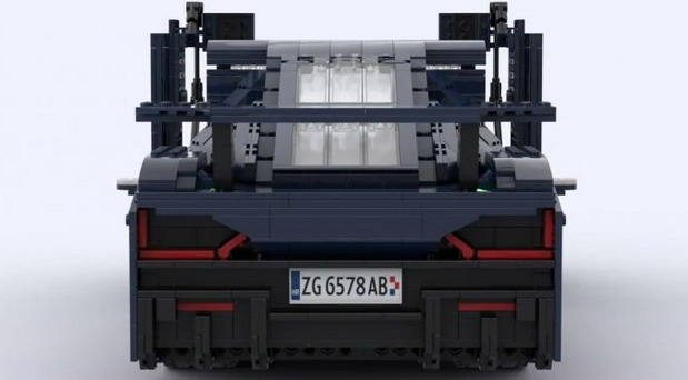 Rimac Nevera od Lego kockica