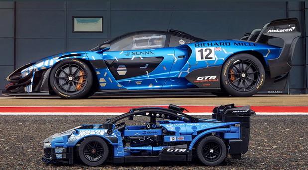 LEGO McLaren Sennna GTR