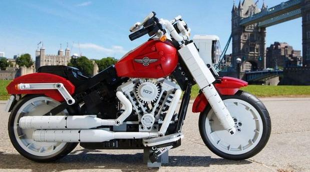 LEGO motocikl Harley-Davidson Fat Boy