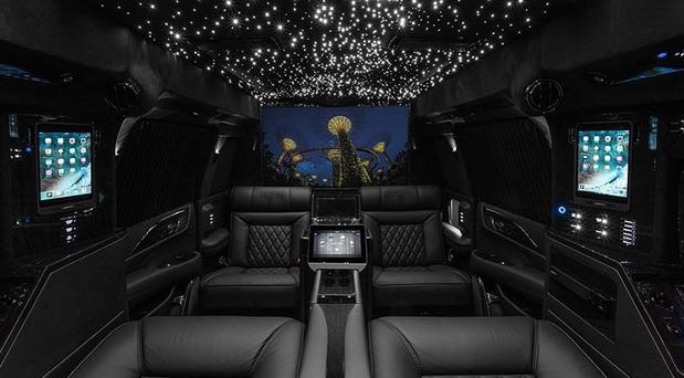 Lexani Cadillac Escalade Mobile Office