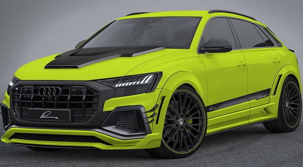 Lumma Audi Q8 CLR 8S