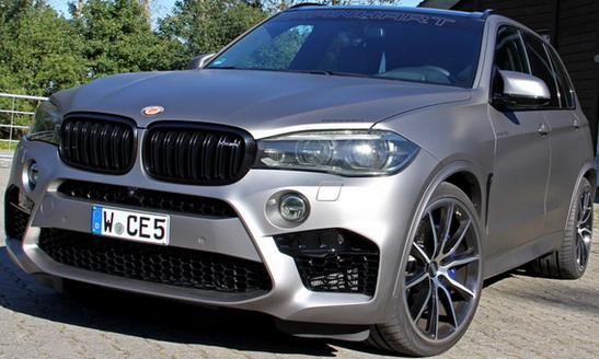Manhart MHX5 700: BMW X5 M sa 700KS