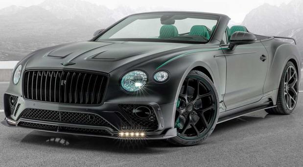 Mansory Bentley Continental GT V8 Cabrio