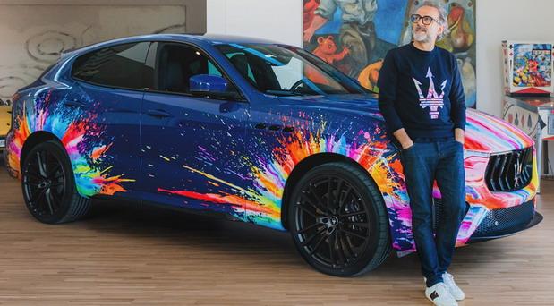 """Maserati Levante Trofeo """"Fuoriserie"""" Art Car"""